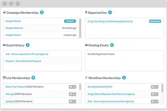 SharpSpring works with all major CRMs