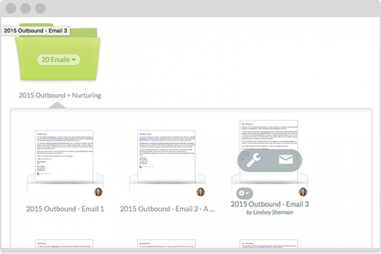Organize your emails with our acclaimed interface.