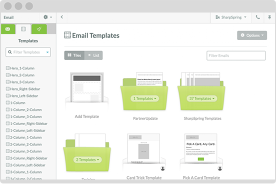 create your own email templates