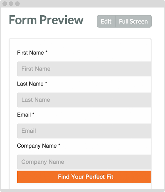 Preview your forms.