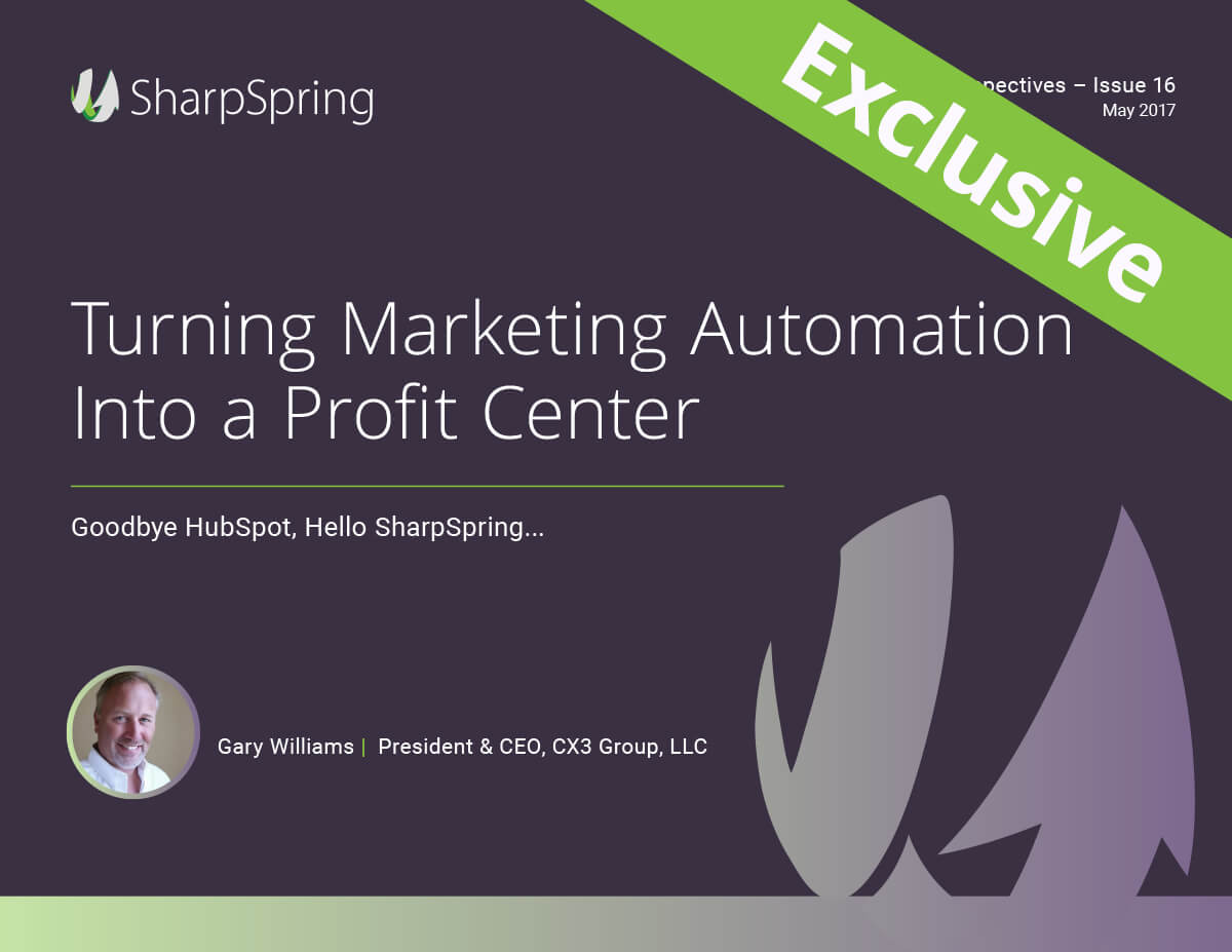 Turning Marketing Automation Into a Profit Center