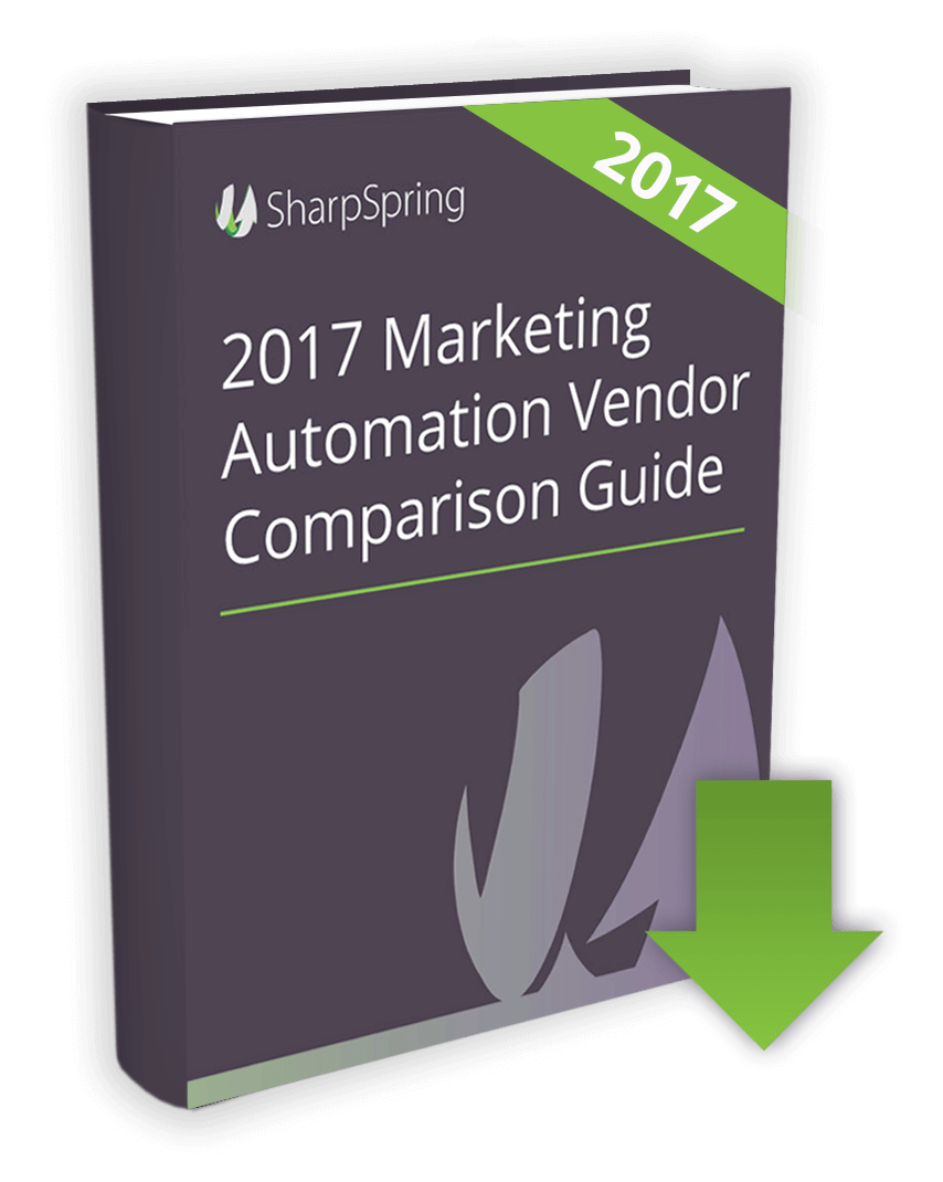SharpSpring Marketing Automation Vendor Comparison Guide image
