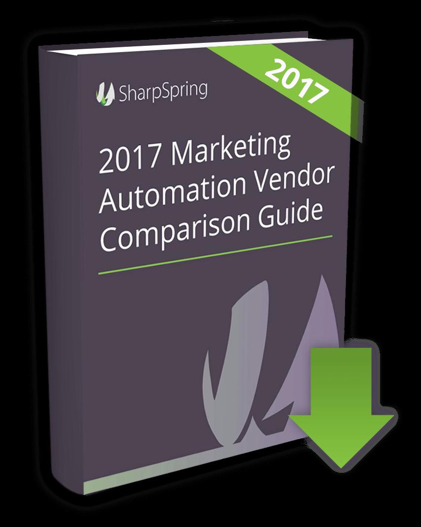 SharpSpring Marketing Automation Vendor Comparison Guide image