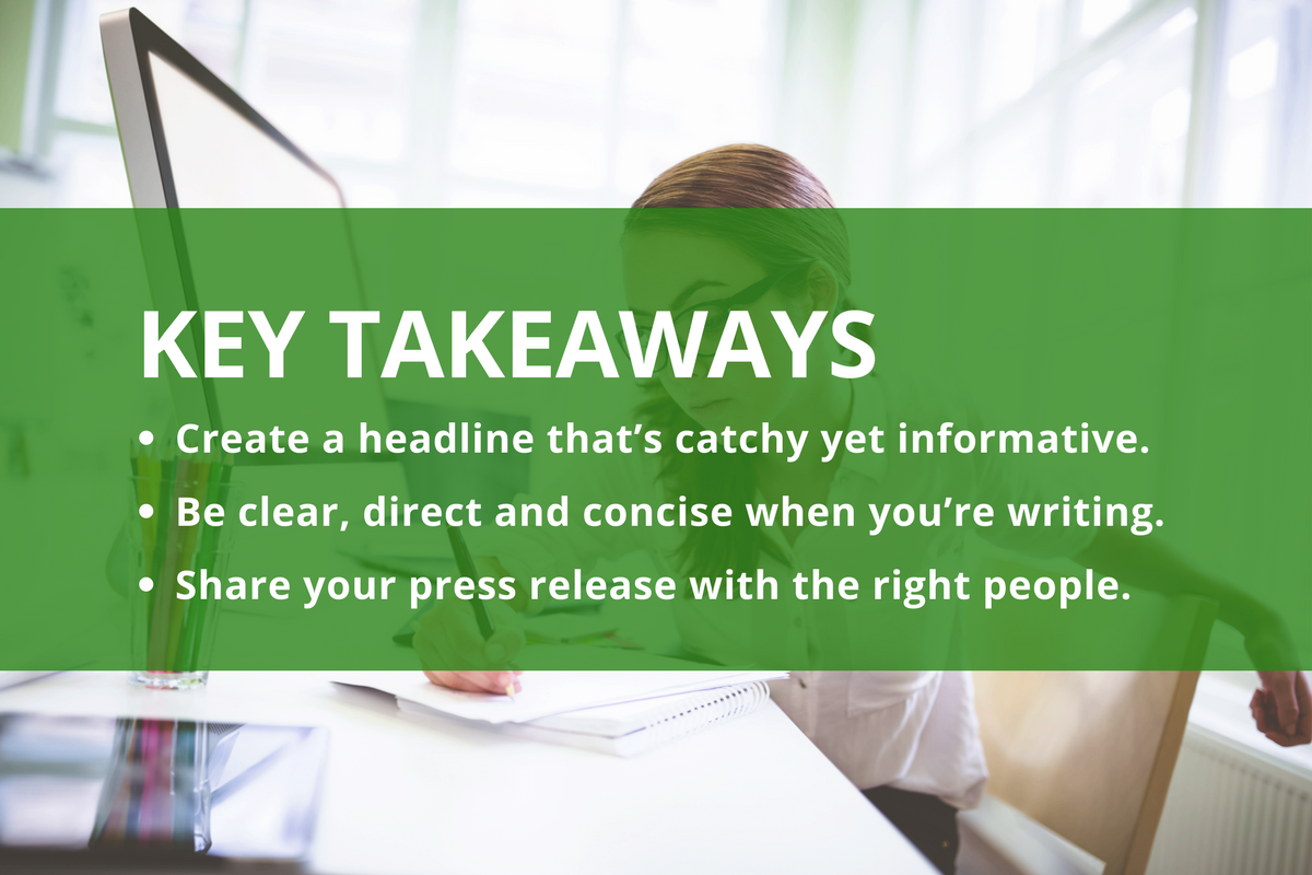 9 Steps To Writing The Perfect Press Release SharpSpring